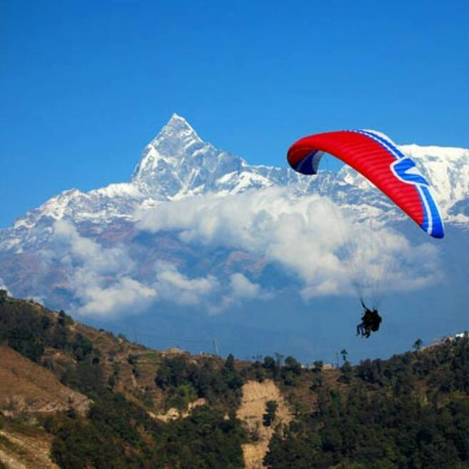 Nepal Flying Paragliding
