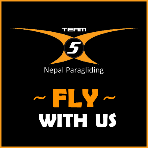 Team 5 Nepal Paragliding