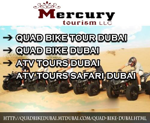 Quad Bike Dubai /Atv Safari Tour